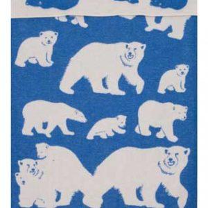 Wool jacquard blanket Polar Family
