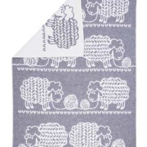 Wool jacquard blanket Knitted Sheep