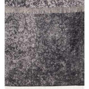 Wool jacquard blanket rain Drops