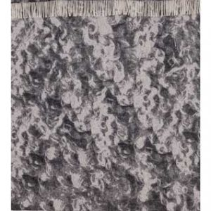Wool jacquard blanket Wool
