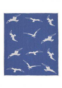 Cotton jacquard blanket Seagul