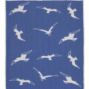 Cotton jacquard blanket Seagul