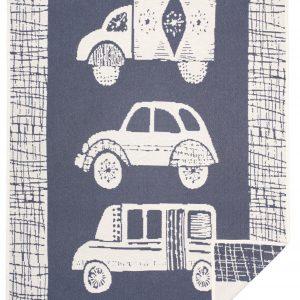 Cotton jacquard blanket Old Car