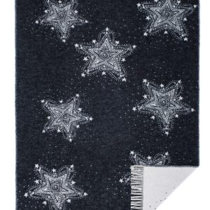 Wool jacquard blanket Magic Snowfall